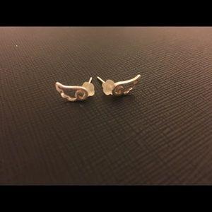 Jewelry - Sterling Silver Wing Ear Studs